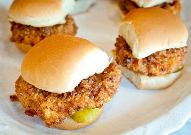 Chicken Filet Sliders Recipe