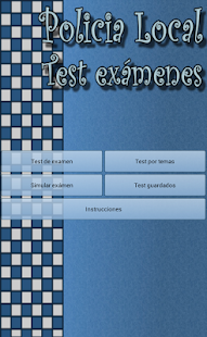 Policia Local Test Examenes - screenshot thumbnail