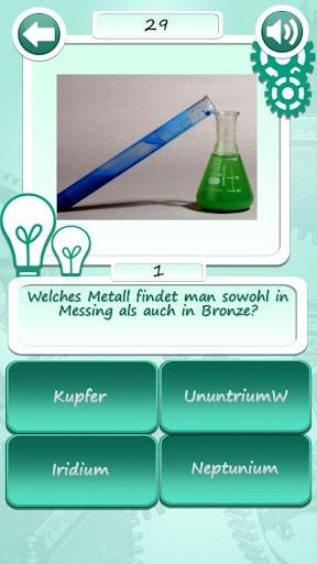 Chemistry Quiz: German