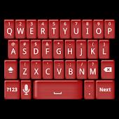 Red Jelly Keyboard Skin