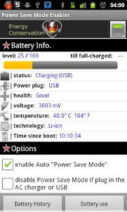 Power Save Mode Toggle- screenshot thumbnail