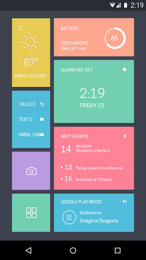 Zooper Widget - screenshot