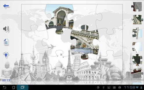 Jigsaw Guide to Venice- screenshot thumbnail