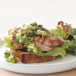Turkey Sandwiches with Ginger-Avocado Relish.