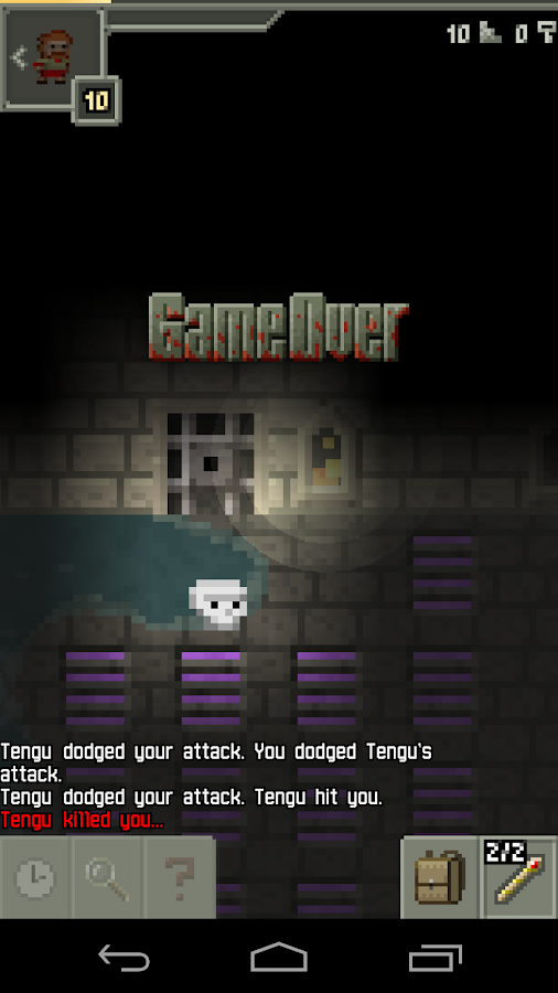 Pixel Dungeon - screenshot