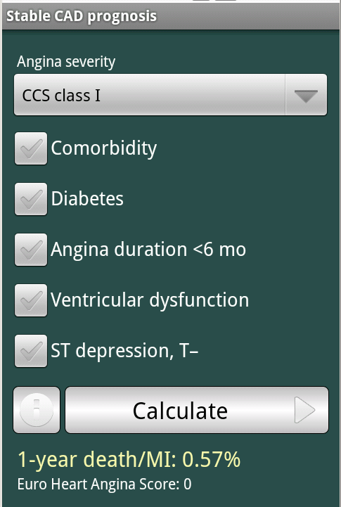 CardioExpert I- screenshot