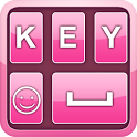 Fancy Pink Keyboard icon