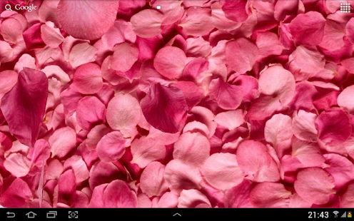 Petals 3D live wallpaper - Android Apps on Google Play