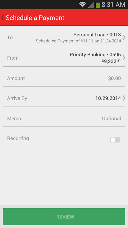 Union Bank Mobile Banking - screenshot
