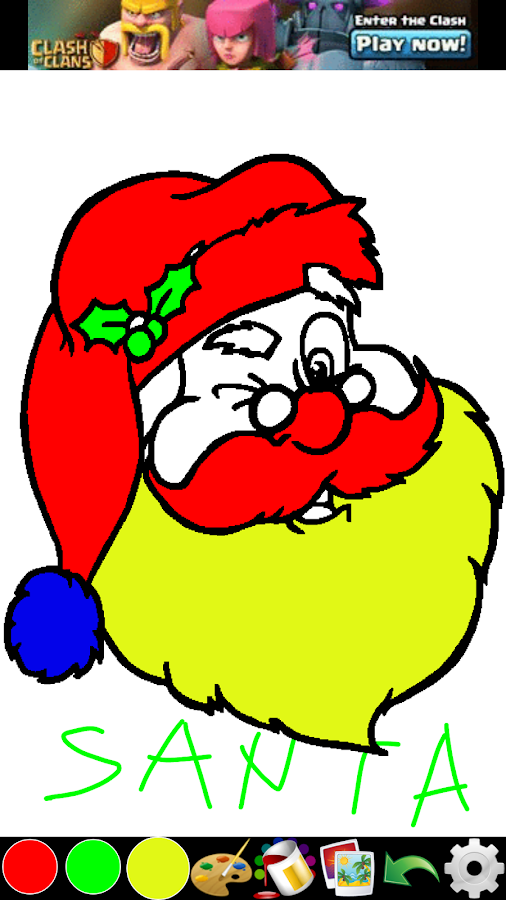 Coloring for Kids - Christmas - screenshot