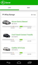 Zipcar Screenshot 2
