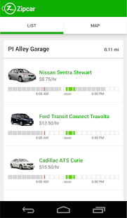 Zipcar Screenshot 2