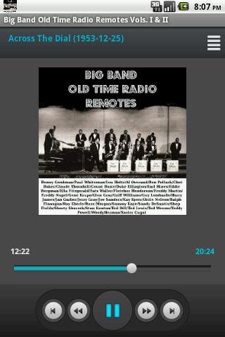 Big Bands OTR Remotes V.I II