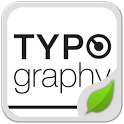 Typo White GOLauncher EX Theme icon