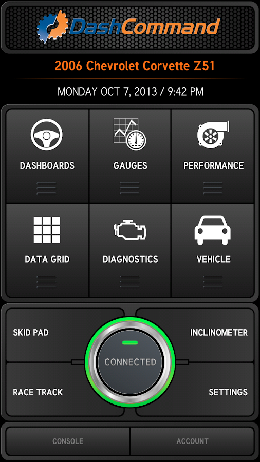 DashCommand (OBD ELM App)- screenshot