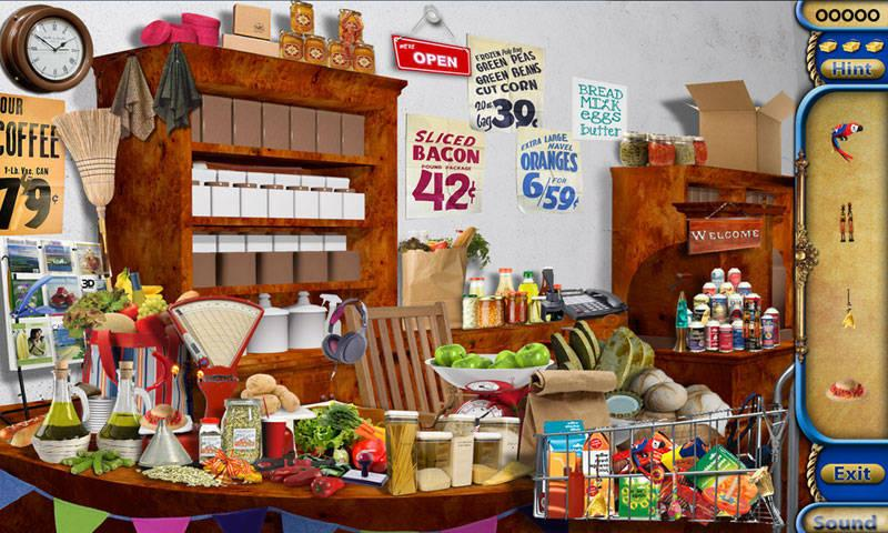 Corner Shop Hidden Object Game - screenshot