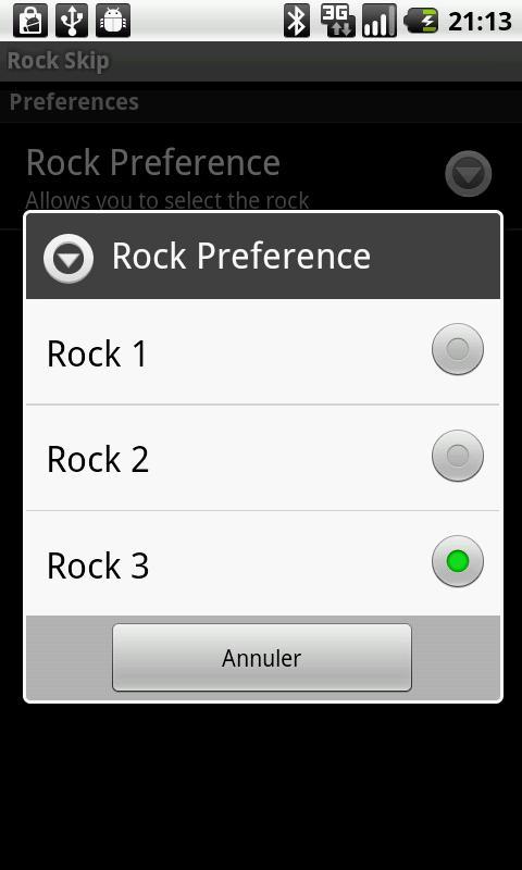 Rock Skip- screenshot