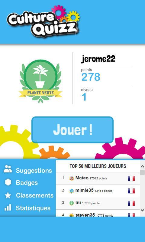 Préférence Culture Quizz – Applications Android sur Google Play NU88