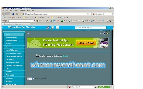 Whats New On The Net - screenshot thumbnail