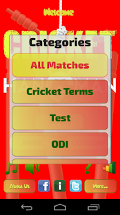 Hangman Intl' Cricket Players- screenshot thumbnail