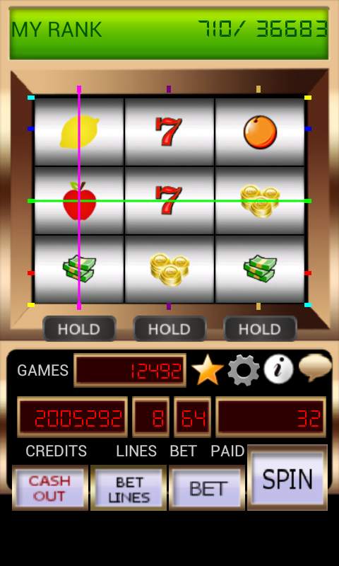 9 REEL SLOT MACHINE- screenshot
