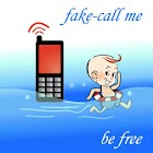 Fake-Call Me Free - Xmas Santa icon