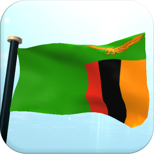ザンビアフラグ3D無料ライブ壁紙 個人化 LOGO-玩APPs
