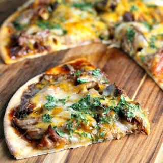 Slow Cooker Pork BBQ Pizza.