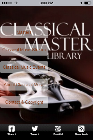 Masters of Classical Music+