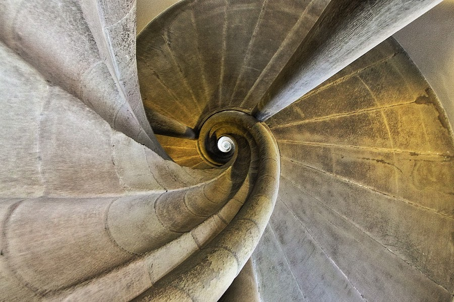 Downward Spiral by Benjamin Boynton - Buildings & Architecture Architectural Detail