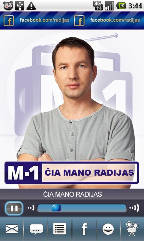 Radijo stotis M-1 - screenshot