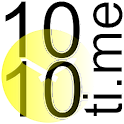 1010ti.me Clock Studio Gold logo