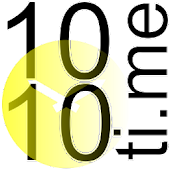 1010ti.me Clock Studio Gold