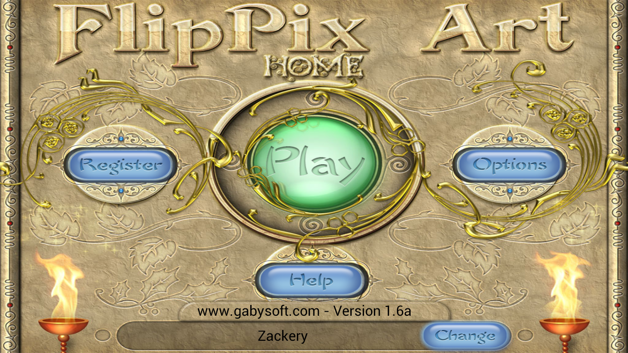 FlipPix Art - Home- screenshot