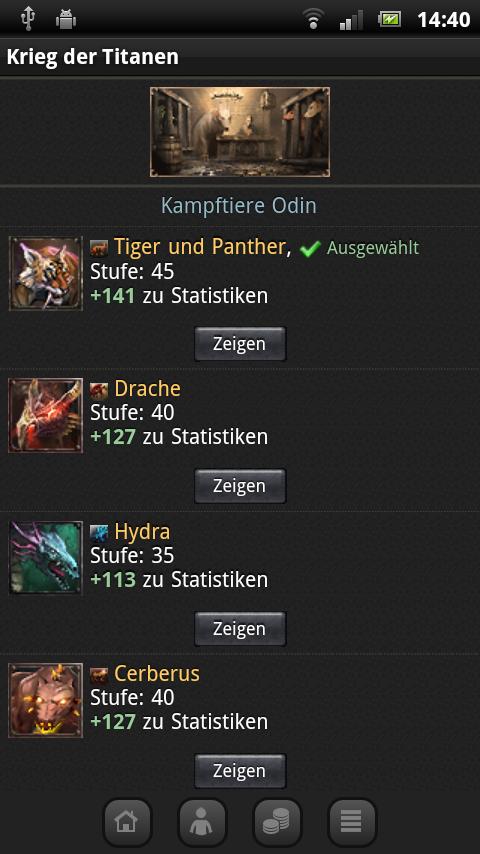 Krieg der Titanen- screenshot