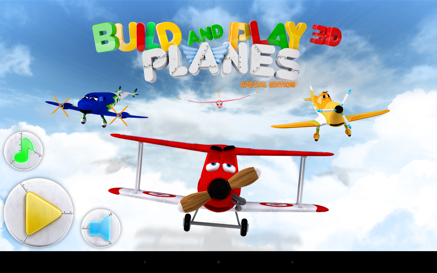Build & Play 3D Planes Edition- screenshot