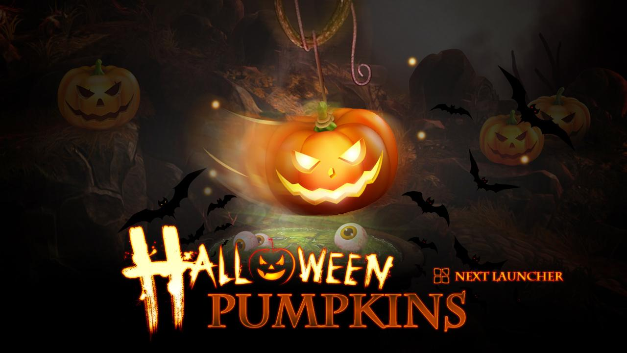 Next Halloween Pumpkin  LWP - screenshot