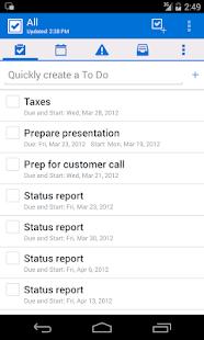 IBM Notes Traveler - screenshot thumbnail