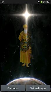 Guru Nanak Ji Magic Live Wall