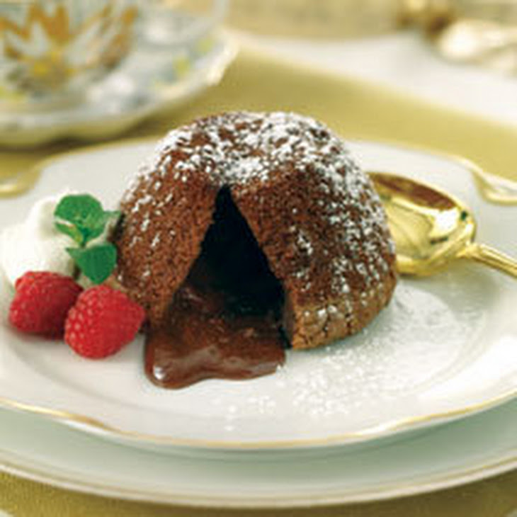 Chocolate Molten Lava Cakes Recipe