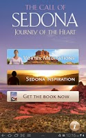 Screenshot of Sedona Meditation