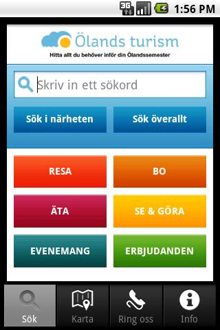 Ölandsturism- screenshot