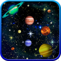 Galaxy Planets HD Free Live WP icon