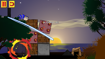 Screenshot of Rolly Poly - Cut & Slice