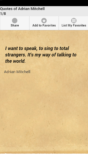 Quotes of Adrian Mitchell