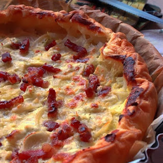 Savory Bacon and Onion Tart