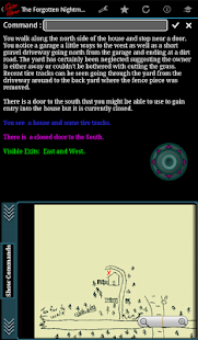 TFN - Text Adventure Game - screenshot thumbnail