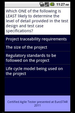 TSG Software Testing Skills - screenshot