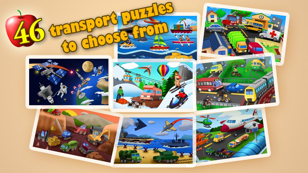 Transport Jigsaw Puzzles HD - screenshot