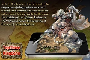 Screenshot of Tap Three Kingdoms
